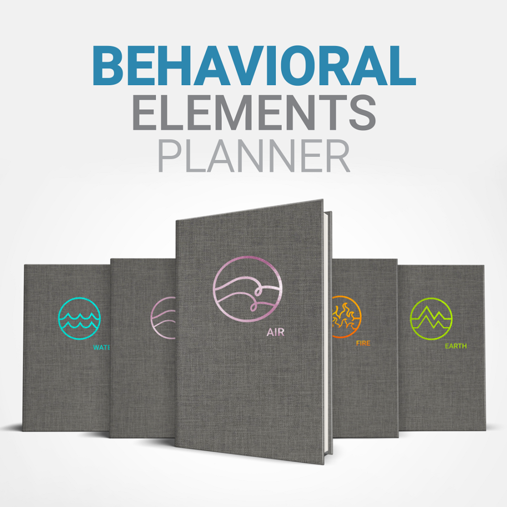 This is an image of the behavioral elements planners, a tool to improve Behavioral Intelligence.